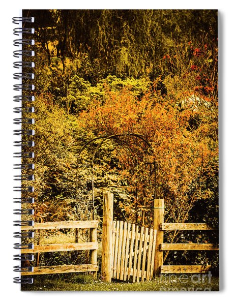 Gates In Fall Spiral Notebook