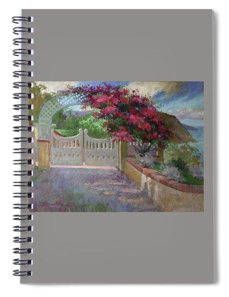 Gateway Splendor - Catalina Island Spiral Notebook