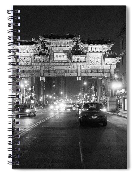 Gateway To Chinatown Spiral Notebook