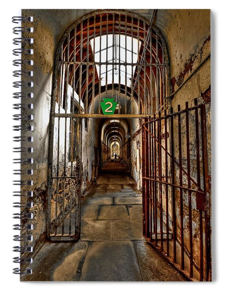 Gateway To Hell Spiral Notebook