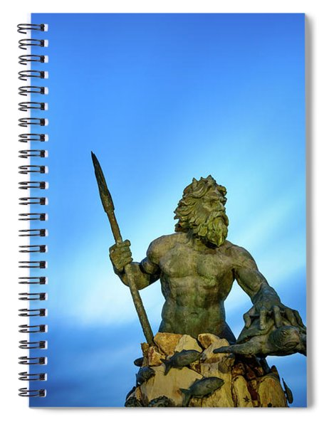 Gateway To The Sea Spiral Notebook