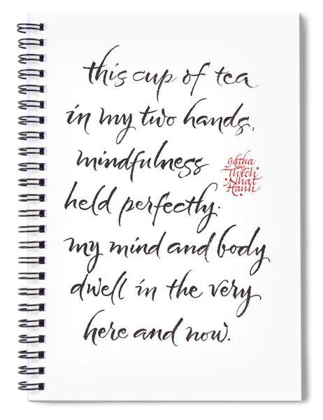 Gatha Six Spiral Notebook