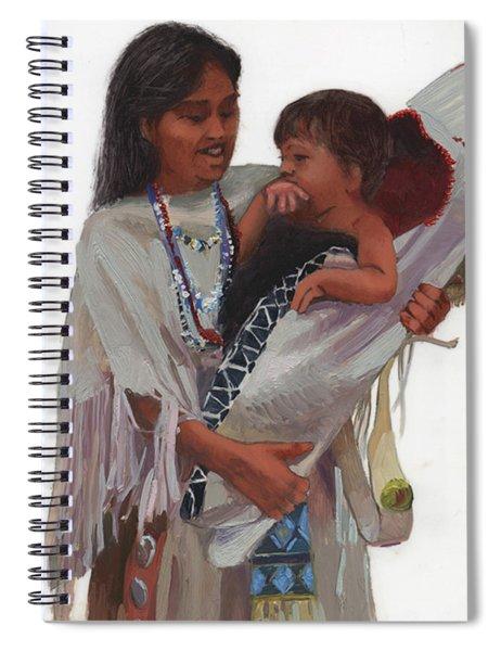 Gathered Tenderness Spiral Notebook