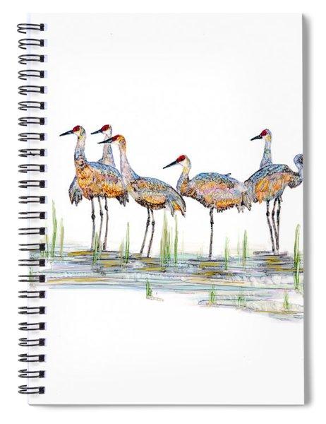 Gathering Spiral Notebook