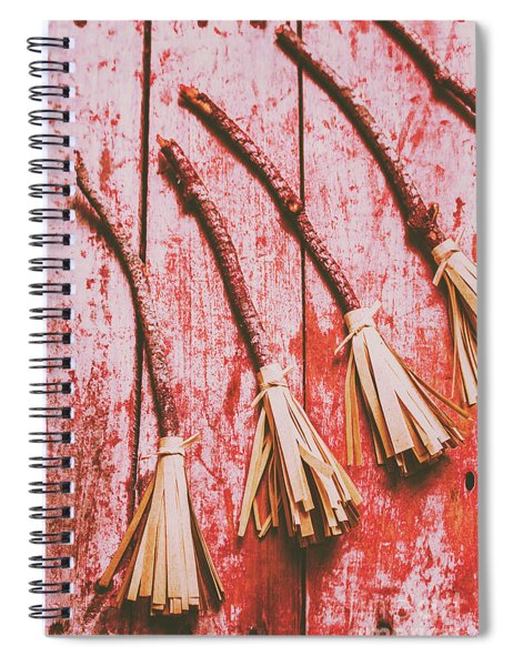 Gathering Of Evil Witches Still Life Spiral Notebook