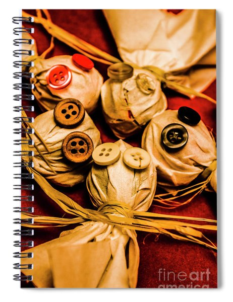 Gathering Of Ghosts Spiral Notebook