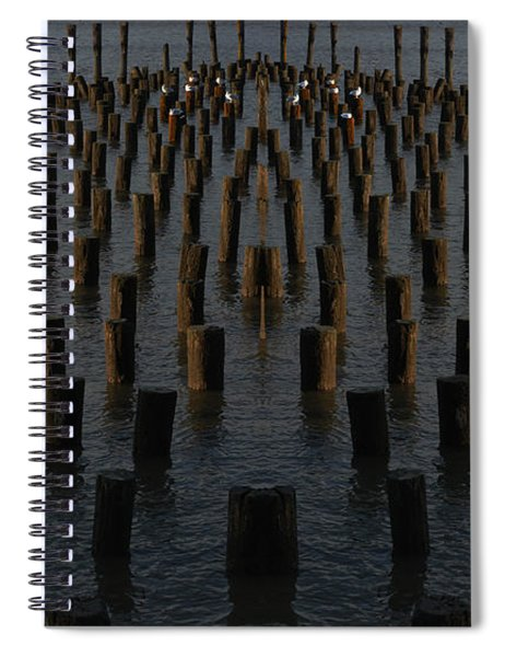 Gathering On The Hudson Spiral Notebook