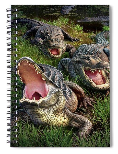 Gator Aid Spiral Notebook