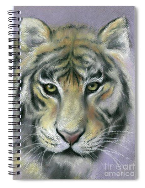 Gazing Tiger Spiral Notebook