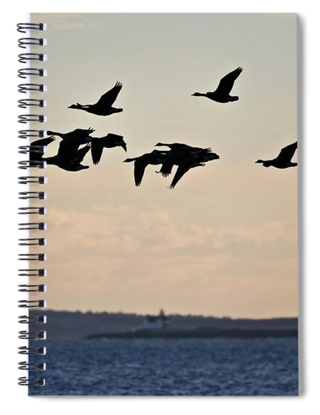 Geese And Cuckholds Spiral Notebook