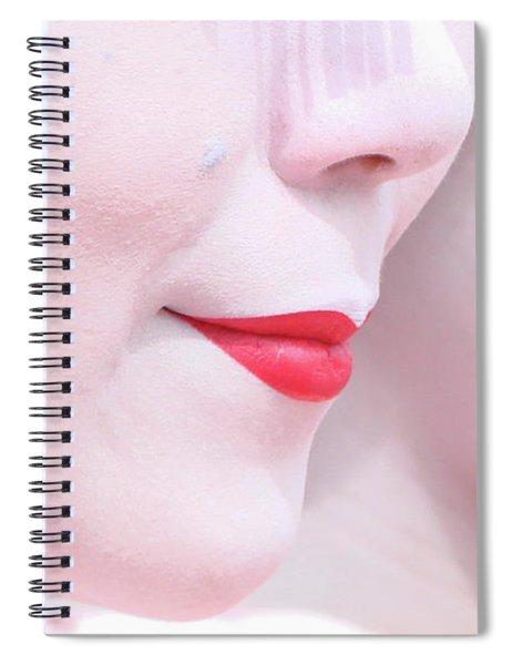 Geisha Smile Spiral Notebook
