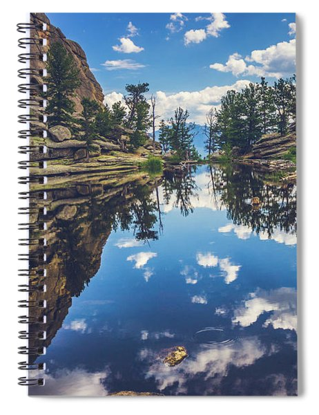 Gem Lake Reflections Spiral Notebook
