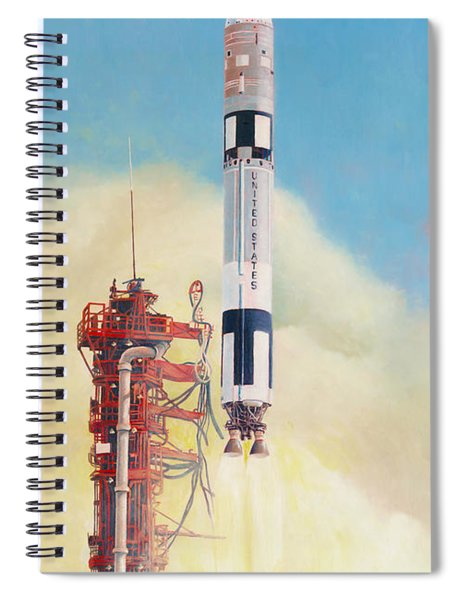 Gemini-titan Launch Spiral Notebook