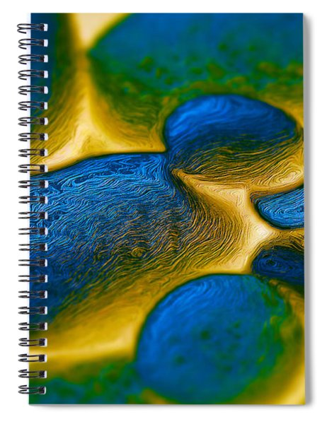 Gene Pool Blue Spiral Notebook