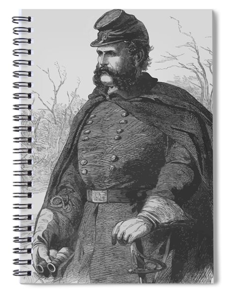 General Ambrose Burnside Spiral Notebook