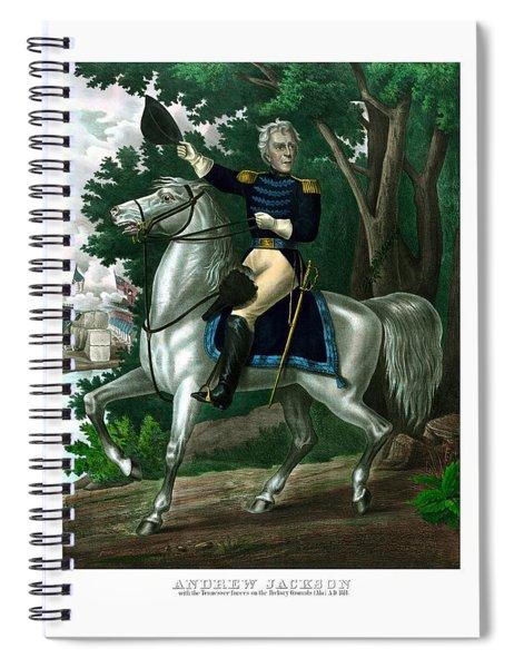 General Andrew Jackson On Horseback Spiral Notebook