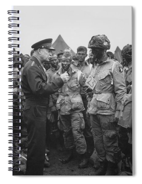 General Eisenhower On D-day  Spiral Notebook