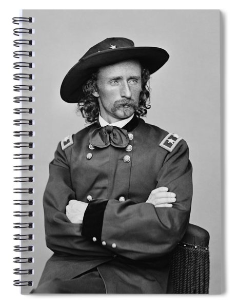 General George Armstrong Custer Spiral Notebook