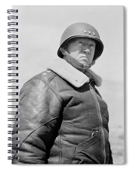 General George S. Patton Spiral Notebook