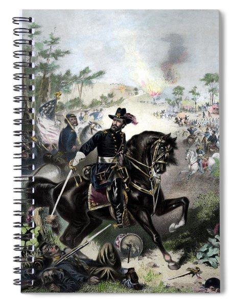 General Grant During Battle Spiral Notebook