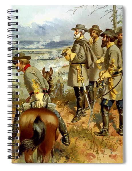 General Lee At The Battle Of Fredericksburg Spiral Notebook