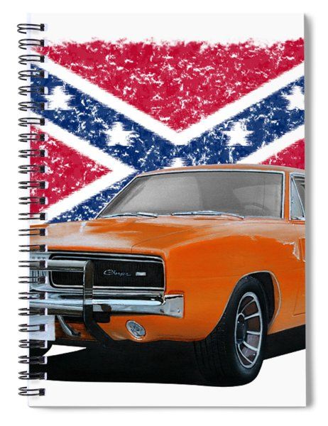 General Lee Rebel Spiral Notebook