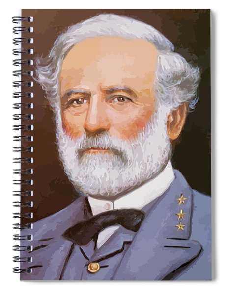 General Lee Spiral Notebook