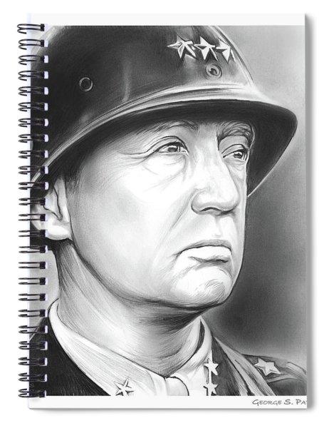 General Patton Spiral Notebook
