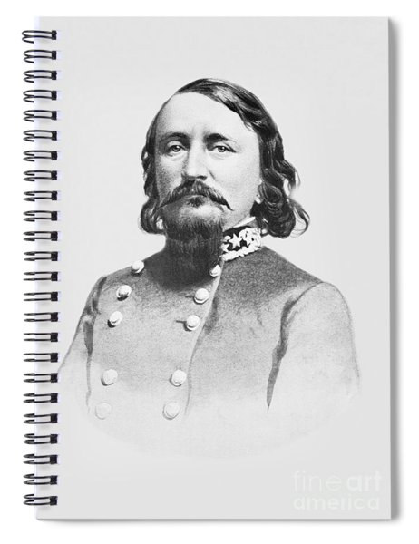 General Pickett - Csa Spiral Notebook