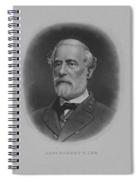 General Robert E. Lee Print Spiral Notebook