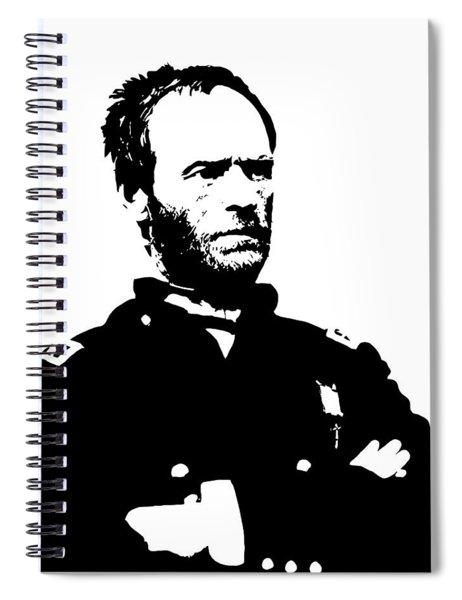 General Sherman Spiral Notebook