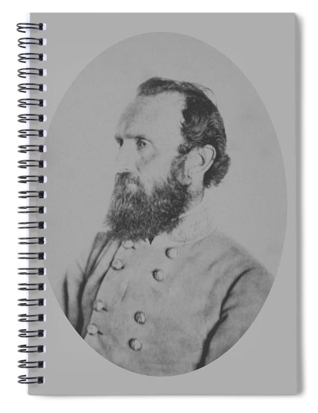 General Thomas Stonewall Jackson - Two Spiral Notebook