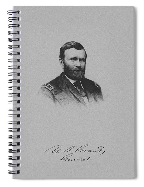 General Ulysses Grant And His Signature Spiral Notebook