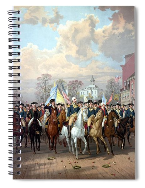 General Washington Enters New York Spiral Notebook