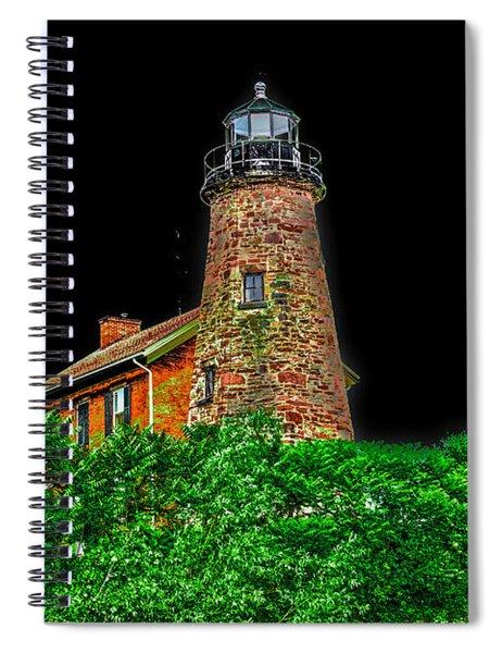 Genesee Lighthouse Spiral Notebook