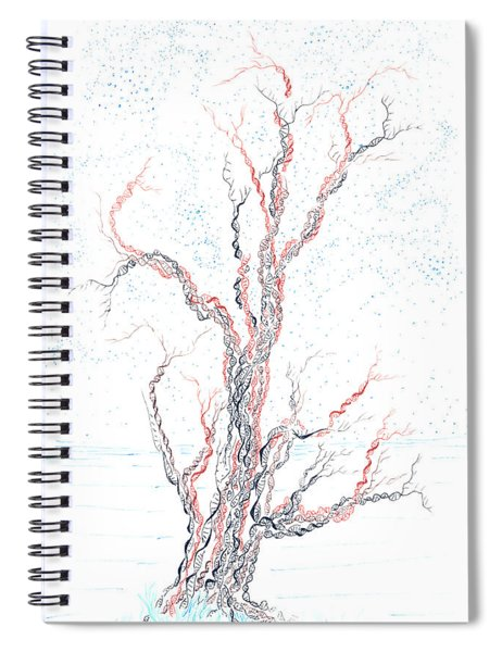 Genetic Branches Spiral Notebook
