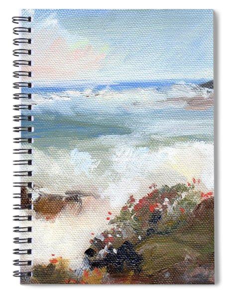 Gentle Breakers Spiral Notebook