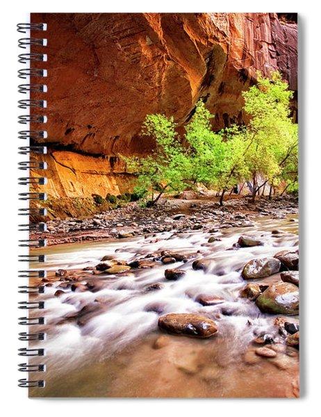 Gentle Flow Spiral Notebook by Scott Kemper