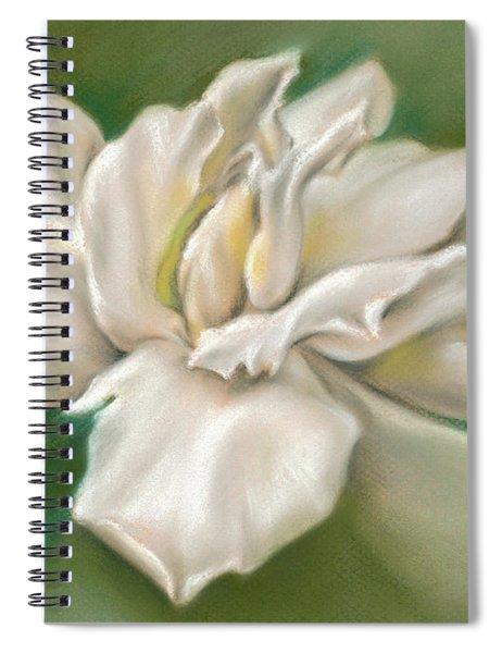 Gentle Gardenia Spiral Notebook