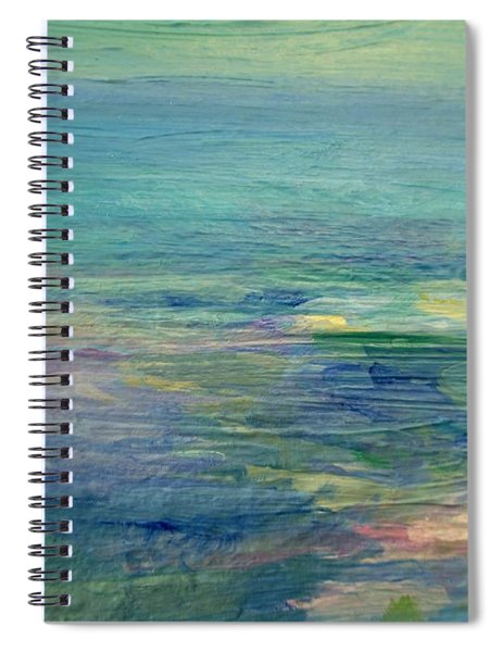 Gentle Light On The Water Spiral Notebook