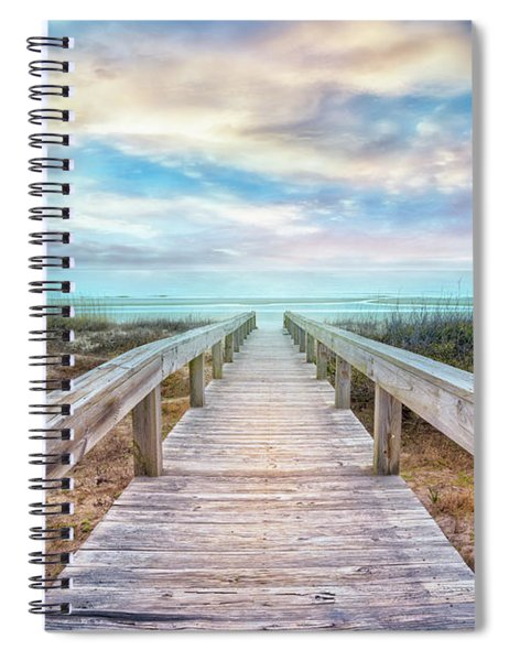 Gentle Morning Walk Spiral Notebook