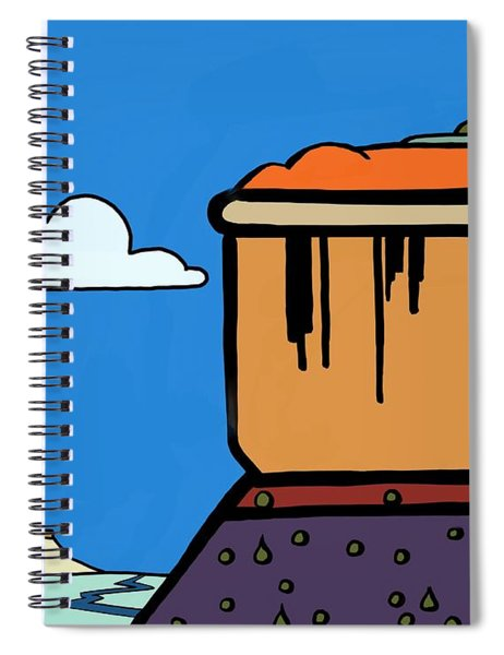 Gently Weeping Spiral Notebook
