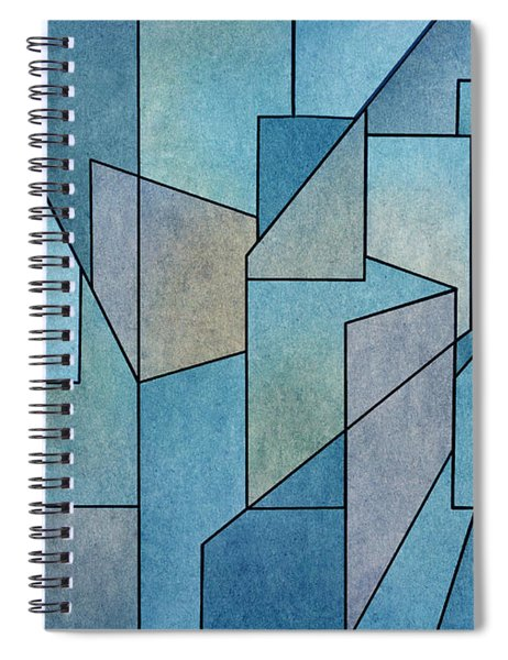 Geometric Abstraction IIi Spiral Notebook
