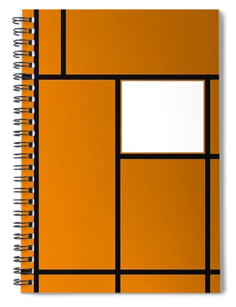 Geometric Compoition .1 Spiral Notebook