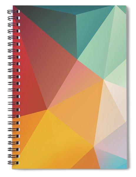 Geometric Xxix Spiral Notebook