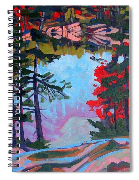 George Lake East Basin Spiral Notebook