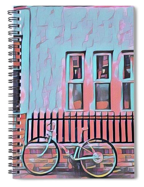 Georgetown Cycle Spiral Notebook