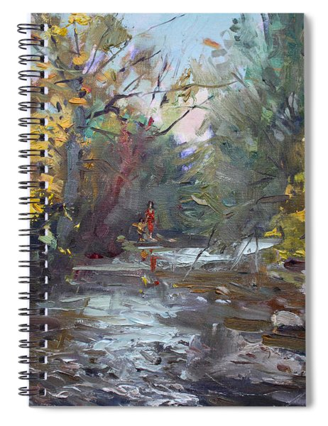 Georgetown Fall Colors Spiral Notebook