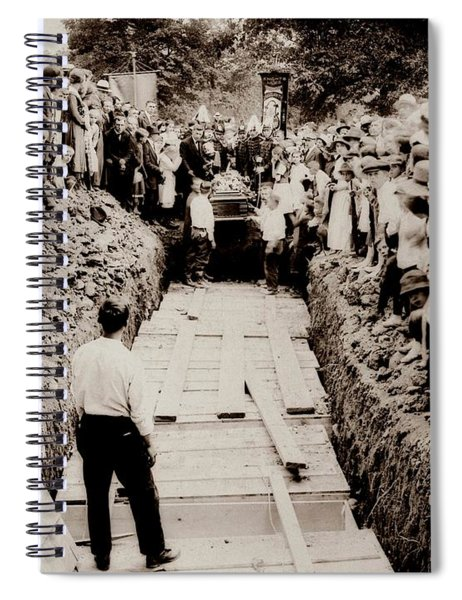 Georgetown Section Of Wilkes Barre Twp. June 5 1919 Spiral Notebook