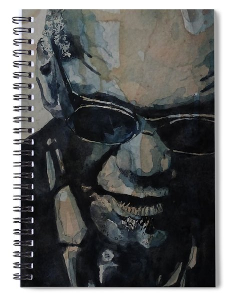 Georgia On My Mind - Ray Charles  Spiral Notebook